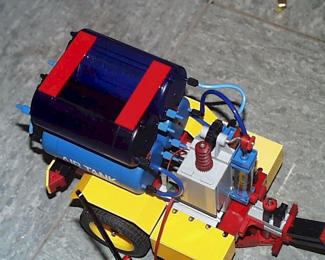 Fischertechnik pneumatik kompressor